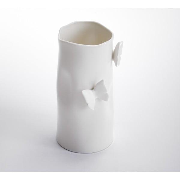 Váza ComingB Papillons, 17 cm