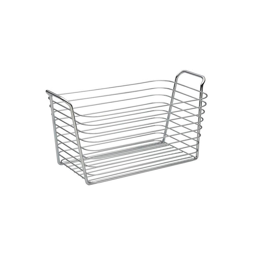 Úložný košík InterDesign Classico, šírka 19 cm
