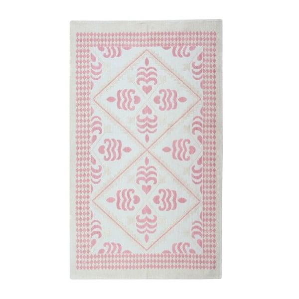 Bavlnený koberec Flair 160x230 cm, púdrový