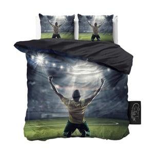 Obliečky z mikroperkálu Sleeptime Football Champion, 240 x 220 cm