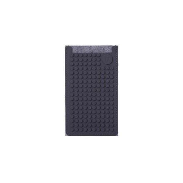Univerzálny malý obal na telefón PixelArt, grey/grey