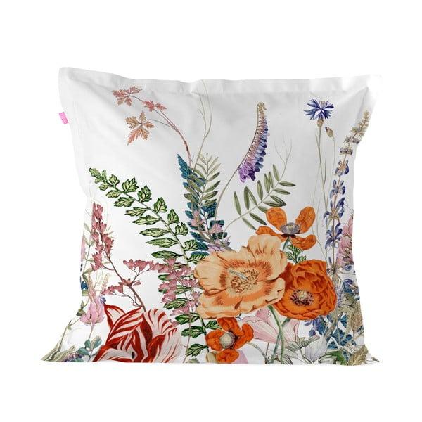Obliečka na vankúš z čistej bavlny Happy Friday Botanical, 60×60 cm