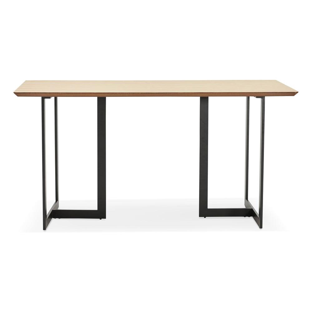 Prírodný jedálenský stôl Kokoon Dorr, 150 x 70 cm
