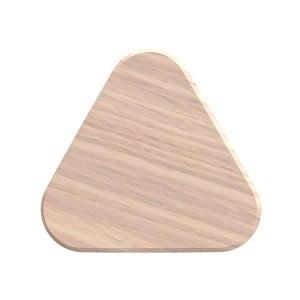 Háčik z dubového dreva na kabáty HARTÔ Leonie, Ø12 cm