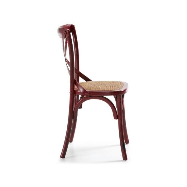 Stolička  Silea, červená