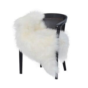 Biela ovčia kožušina s dlhým vlasom Arctic Fur Chesto, 90 × 50 cm