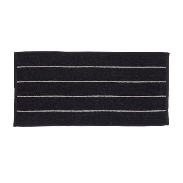 Sada 2 čiernych froté uterákov Casa Di Bassi Camilla, 50x100 cm