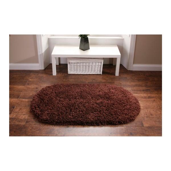 Hnedý koberec Think Rugs Rainbow Brown, 75x135cm