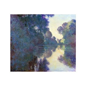 Obraz Claude Monet - Morning on the Seine near Giverny, 80x70 cm