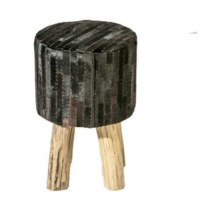 Taburetka Colo Patch Hocker Black