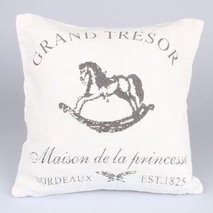 Obliečka na vankúš Grand Tresor, biely