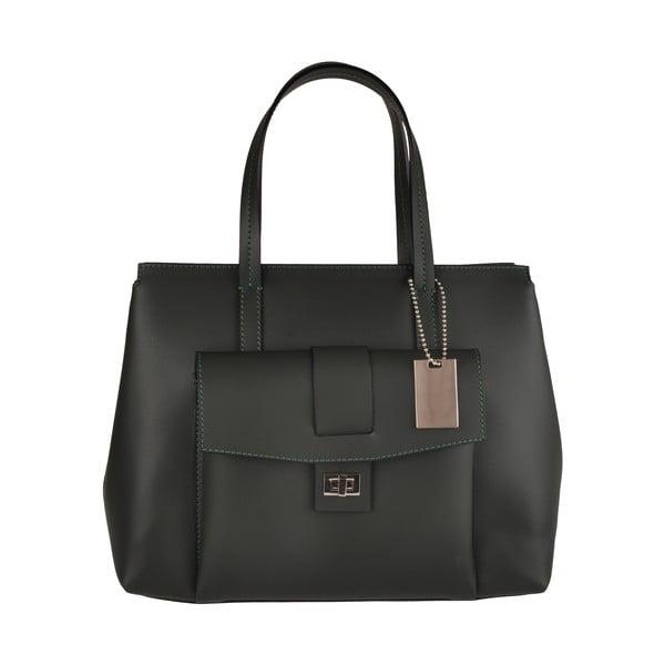 Kožená kabelka Emilio Masi Tanthi, čierna
