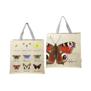 Skladacia taška s potlačou motýľov Ego Dekor Nature