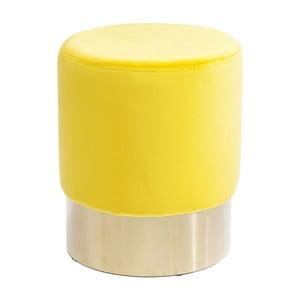 Žltá stolička Kare Design Cherry