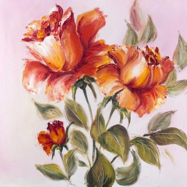 Obraz Romantické ťahy štetcom, 60x60 cm
