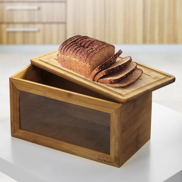 Chlebník s doskou na pečivo Rebena
