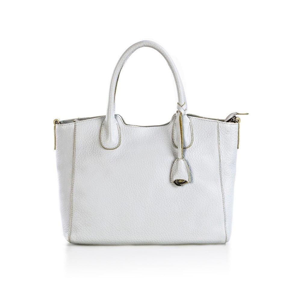 7ca3c8653a Biela kožená kabelka Gianni Conti Anastasia