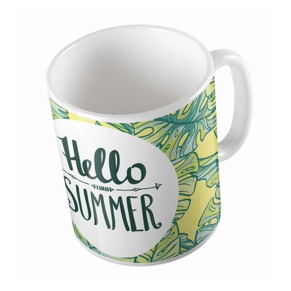 Keramický hrnček Hello Summer, 330 ml