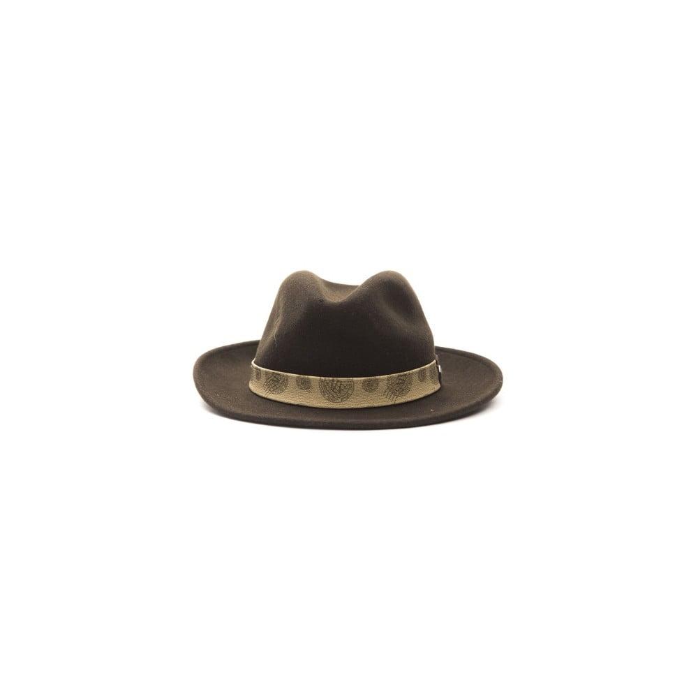 0d4ed9862 Hnedý kožený pánsky klobúk Alviero Martini Safari