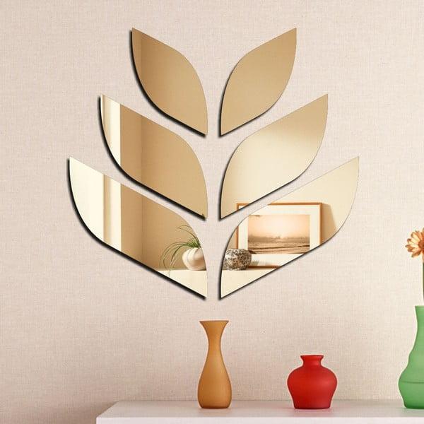 Dekoratívne zrkadlo Listy