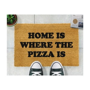 Rohožka Artsy Doormats Home Is Where the Pizza Is, 40 × 60 cm