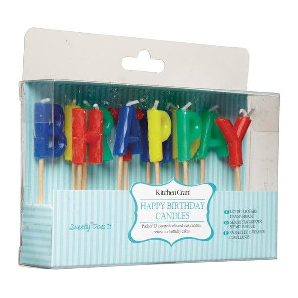 Sada narodeninových sviečok Sweetly Does It