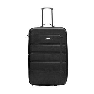Čierny cestovný kufor Packenger Easy Traveller