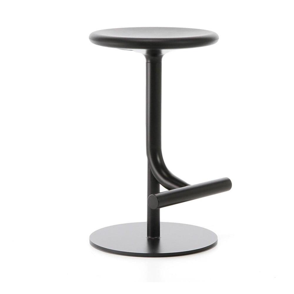 Čierna barová stolička Magis Tibu, výška 60 cm