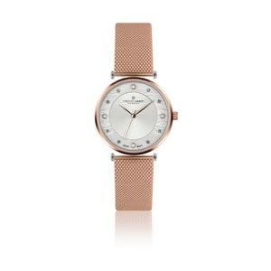 Dámske hodinky s antikoro remienkom v ružovozlatej farbe Frederic Graff Lartiono
