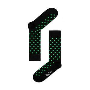 Ponožky Happy Socks Green Dots, veľ. 36-40