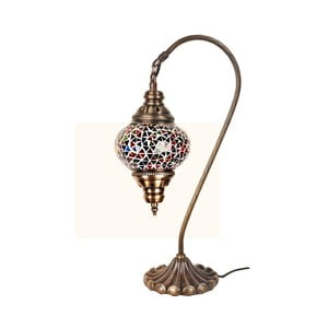 Sklenená lampa Fishing I, 13 cm
