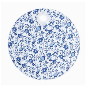 Doska z tvrdeného skla Kitchen Craft Floral Pattern, 24 cm