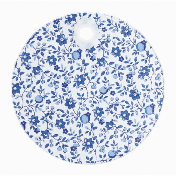 Doska z tvrdeného skla Kitchen Craft Floral Pattern, 24 cm