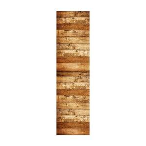 Koberec z vinylu Tableros Grunge, 80x300 cm