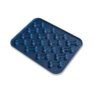 Modrá forma na pečenie psích sušienok v tvare kosti Nordic Ware