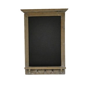 Čierna bridlicová tabuľa v drevenom ráme Antic Line