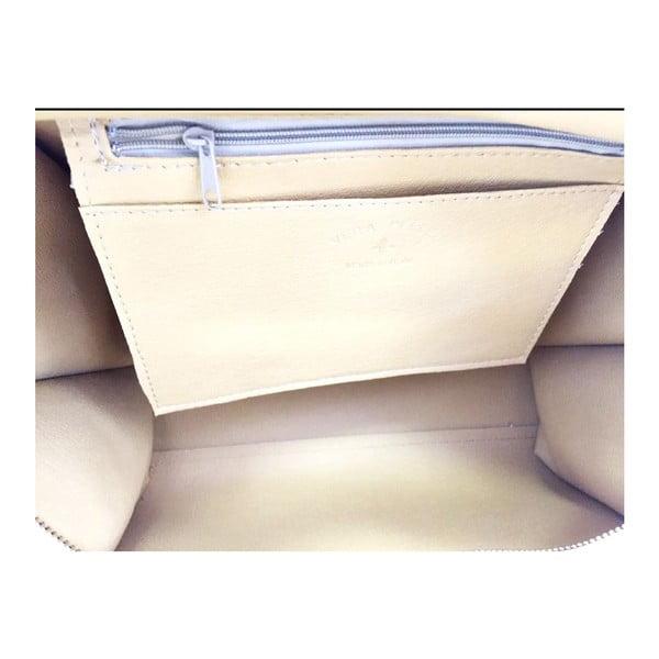 Kožená kabelka Desideria Taupe