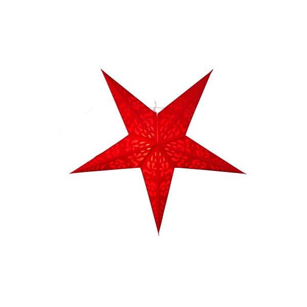 Závesná svietiaca hviezda Best Season Five Snow Red