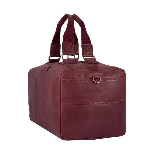Pánská cestovná taška Vintage Bordeaux