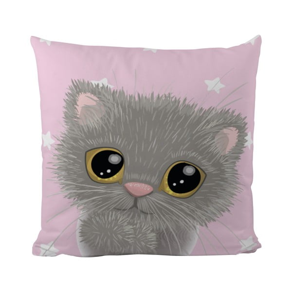 Vankúš Mr. Little Fox Small Kitty, 50x50cm