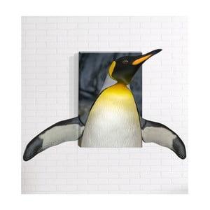 Nástenný 3D obraz Mosticx Tučniak, 40 x 60 cm