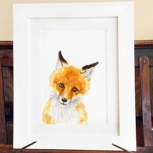 Plagát Wee Fox A4