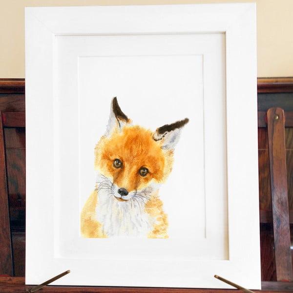 Plagát Wee Fox A3