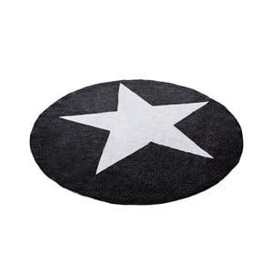 Koberec Alta Star Black White, 140 cm