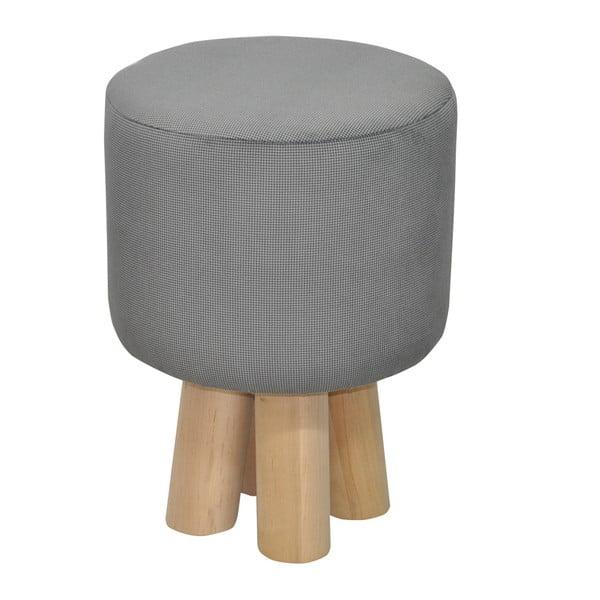 Stolička Happy Barok Kivi, sivá
