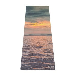 Podložka na jogu Yoga Design Lab Travel Sunset, 900 g