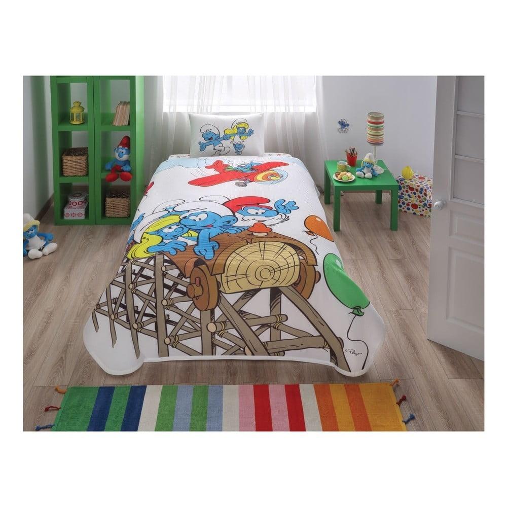 Set plédu, plachty a obliečky na vankúš Sirnier Joy, 160 × 230 cm