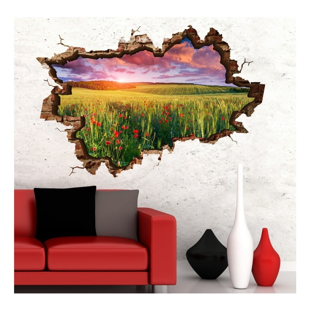 Nástenná samolepka 3D Art Fien, 135 × 90 cm