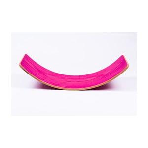 Ružová buková hojdacia doska Utukutu Woudie, dĺžka117 cm