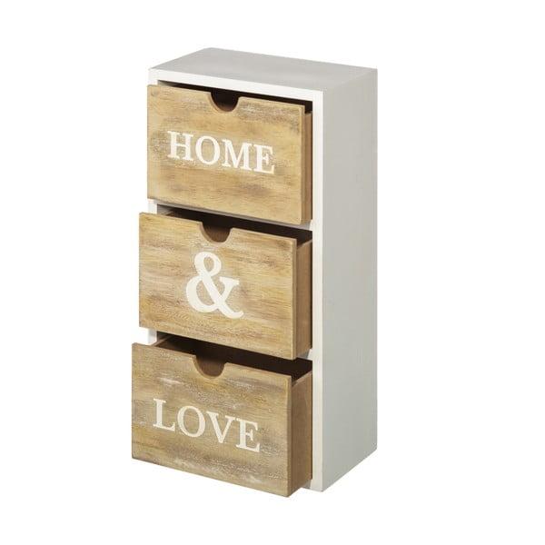 Šuplíčky Home&Love, výška 34 cm
